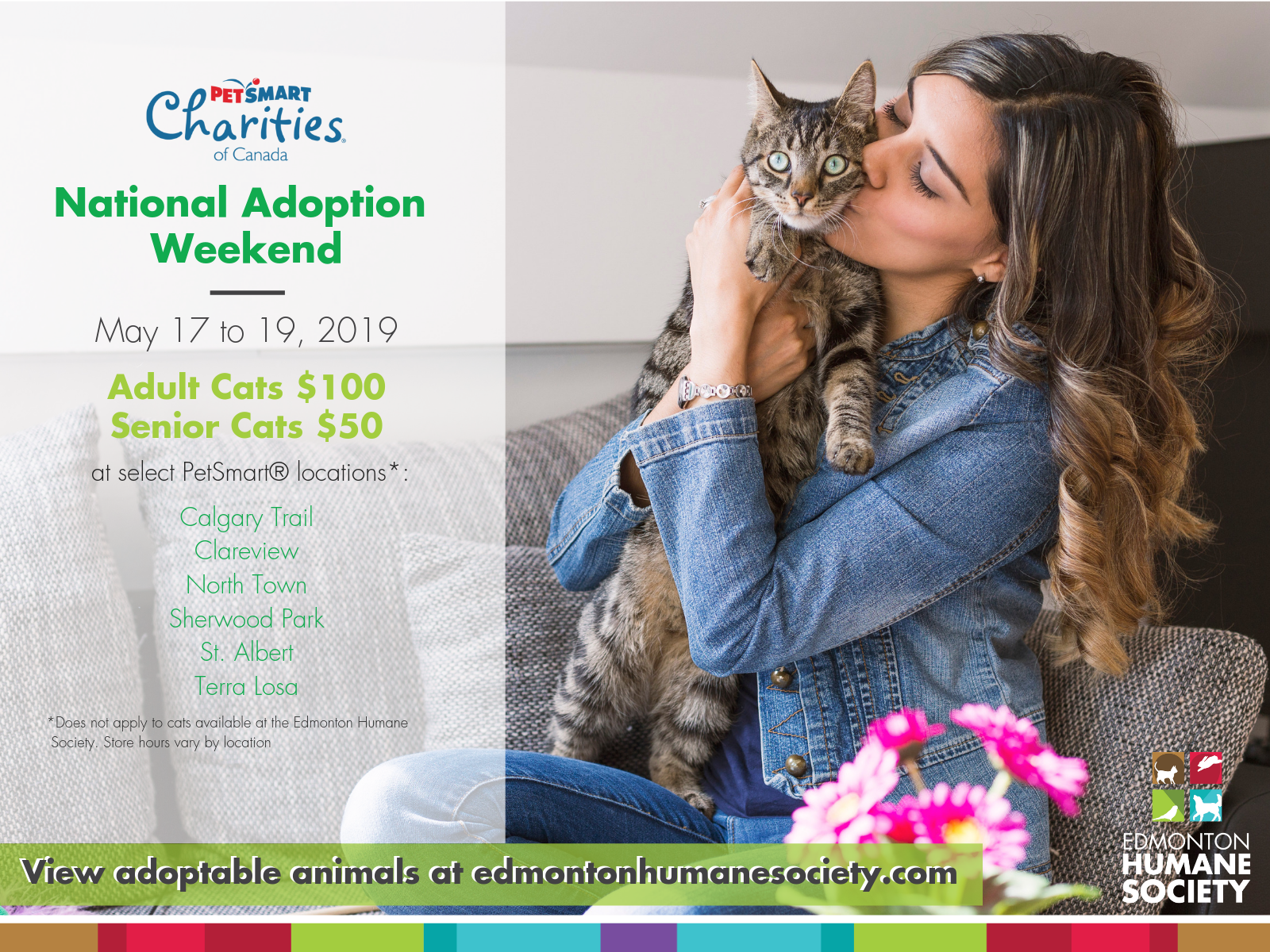 PETSMART NATIONAL ADOPTION WEEKEND - Edmonton Humane Society